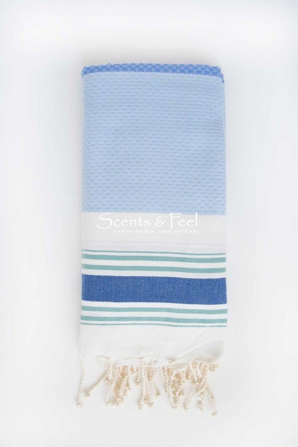 Fouta Beach Towel Multicolor Ocean