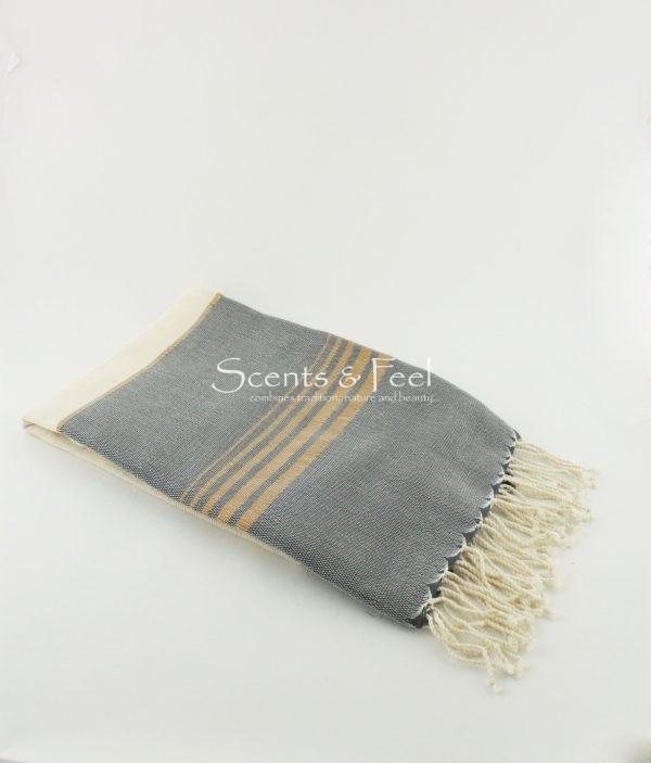 Fouta Bouclette Stripes