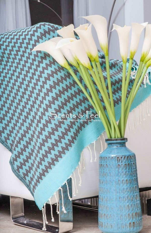 Fouta/Throw Chevron Zig Zag