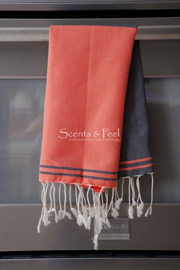 Guest Towel Split Color