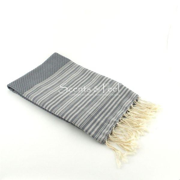 Fouta Positive/ Negative Thin Stripes