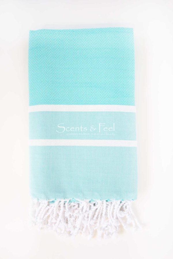 Fouta Towel Herringbone 2 Stripes