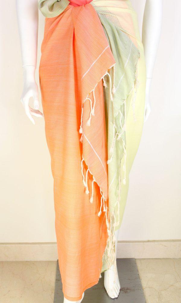 Pareo Tricolor Stripes