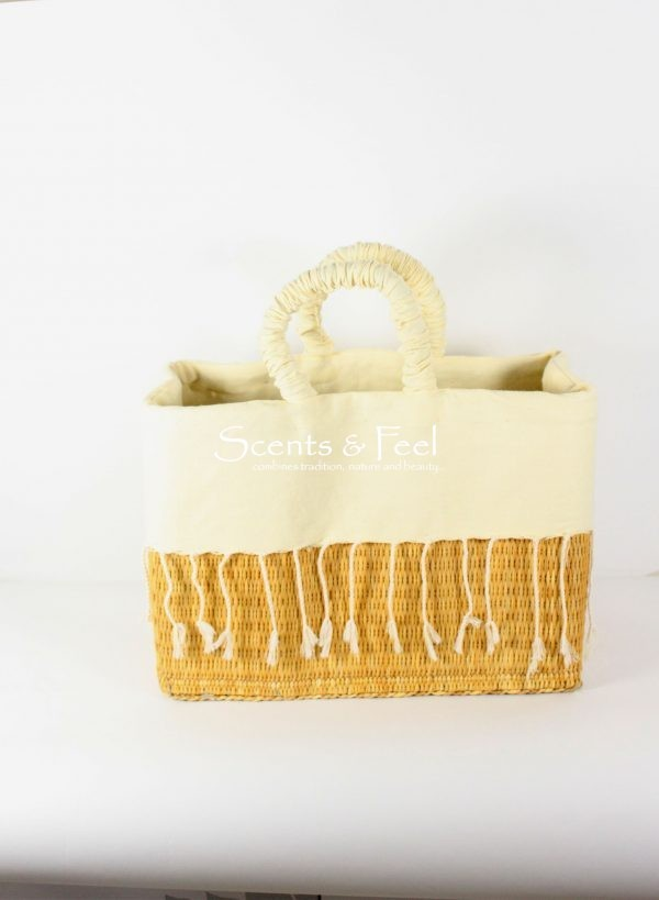 Hand Crafted Lined Basket