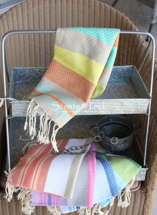 Guest Towel Honeycomb Multicolor