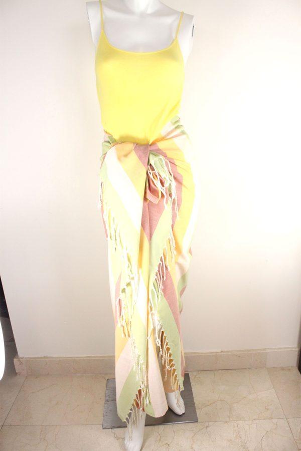 Pareo Regular Multicolor Stripes