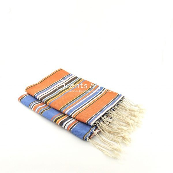 Fouta Canvas Bayadere Multi Stripes