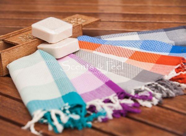 Tiny Guest Towel Asymmetrical Stripes