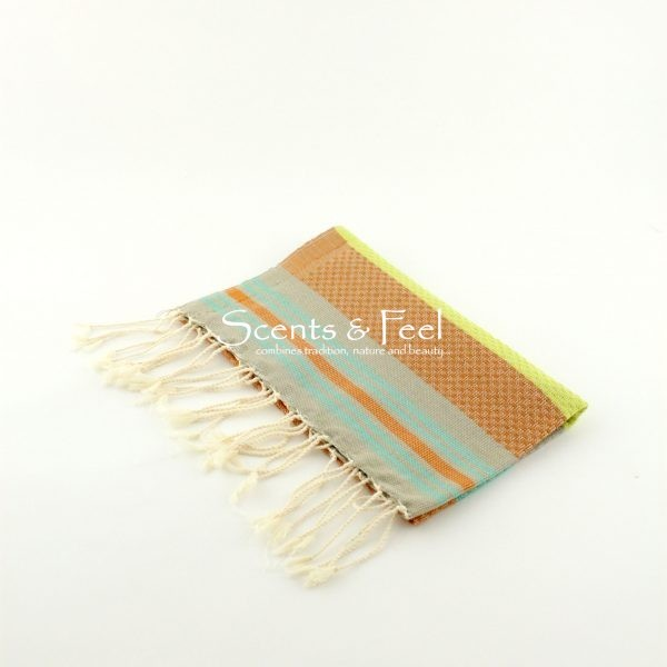 Fouta Guest Towel Multicolor Earth