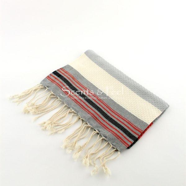 Fouta Guest Towel Multicolor Grey