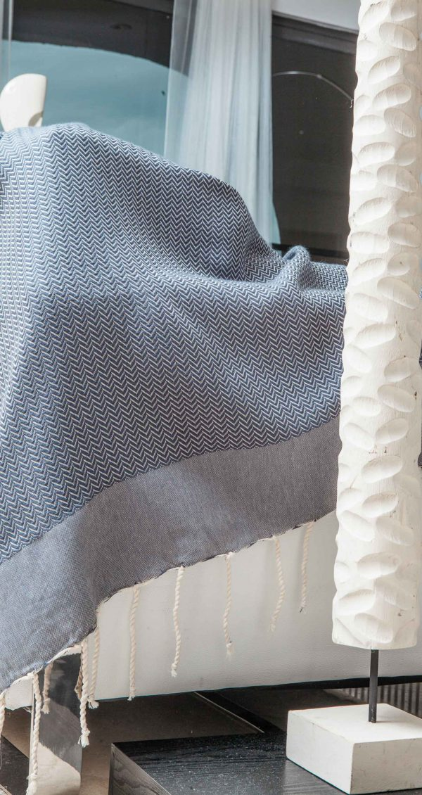 Fouta/Throw Chevron extra soft
