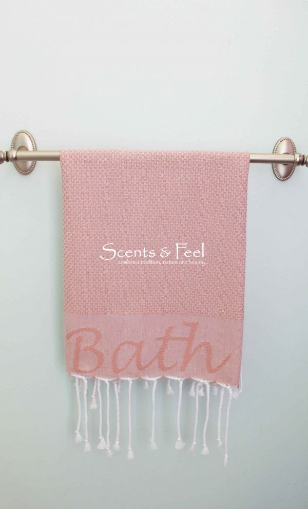 """Guest towel """"Bath"""" jacquard"""