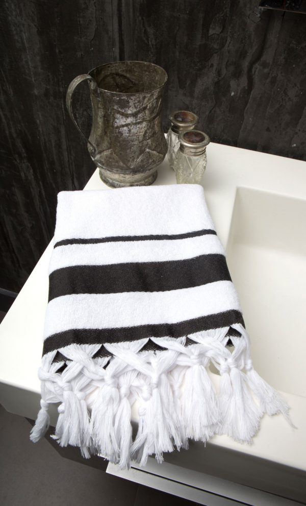 Guest Towel Canvas Light Terry