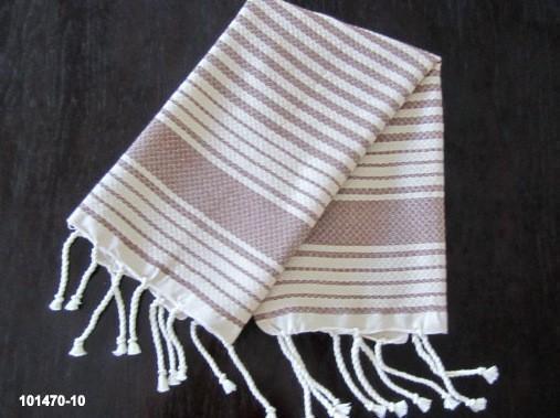 Turkish Hand Towel Weavy Taupe