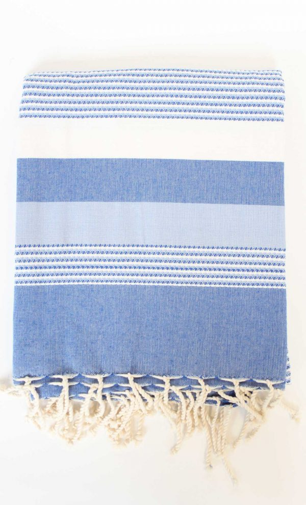 Fouta Ibiza Thin Stripes Blue
