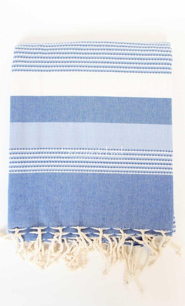 Fouta Ibiza Thin Stripes Blue