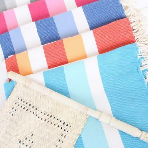 Turkish Beach Towel Ibiza Large Stripes