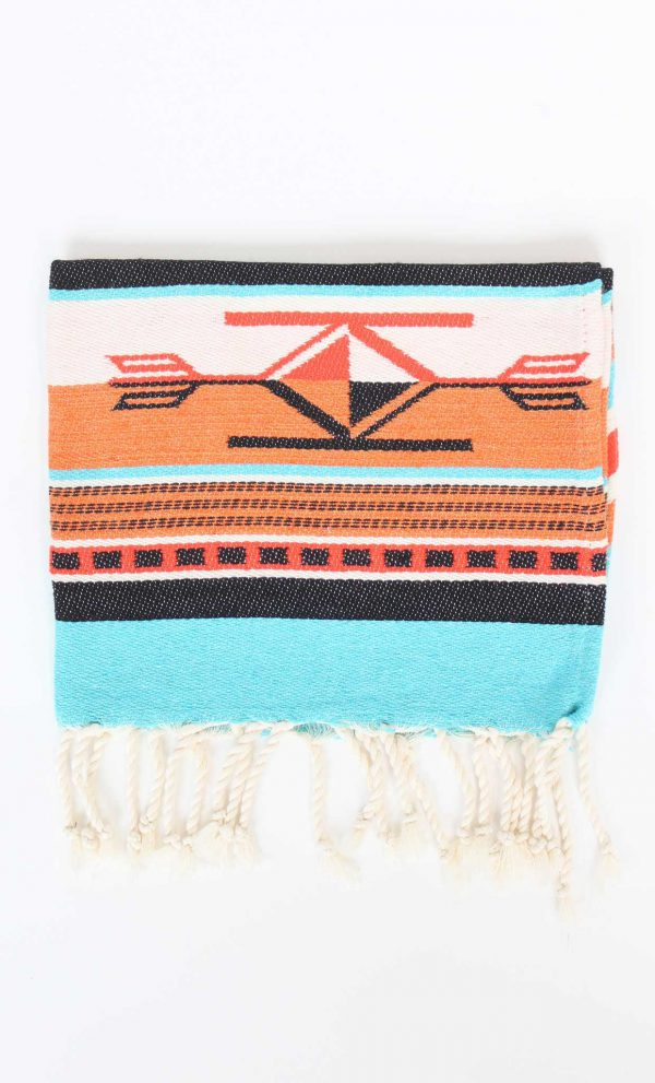 Guest Towel Boho Orange