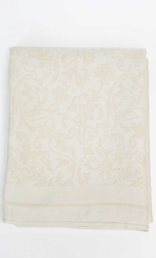 Fouta Bath Towel Fleur De Lys Beige