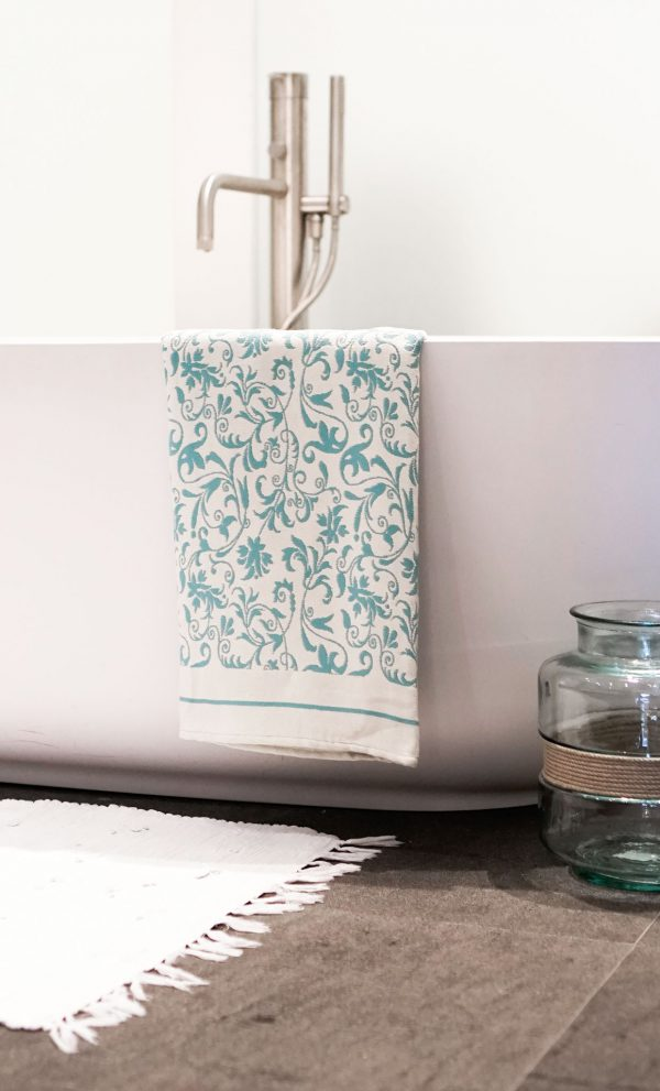 Fouta Bath Towel Fleur De Lys