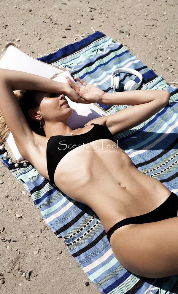 Fouta Beach Towel Boho Blue