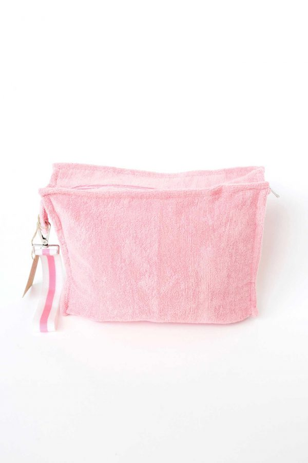 Terry Pouch Plastic Lined