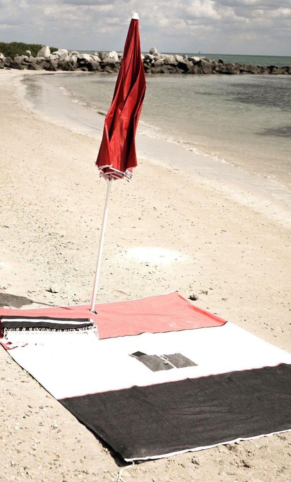 Beach Blanket Tricolor