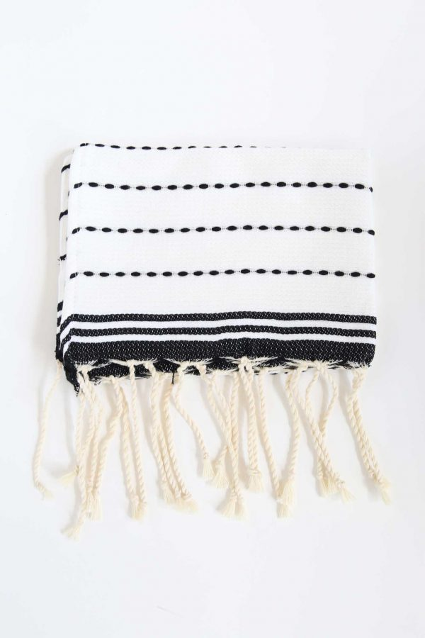 Guest Towel Stitches Bicolor