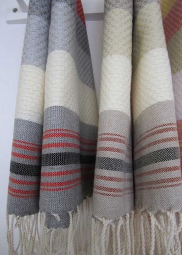 Fouta Neutral Multicolor Honeycomb