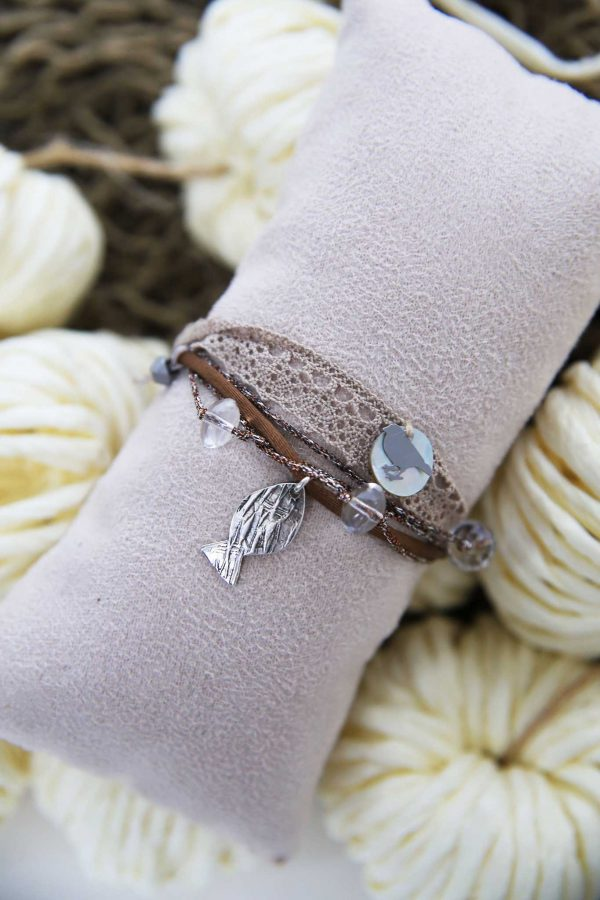 Bracelet Lace Beige