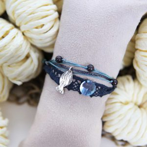 Bracelet Lace Blue