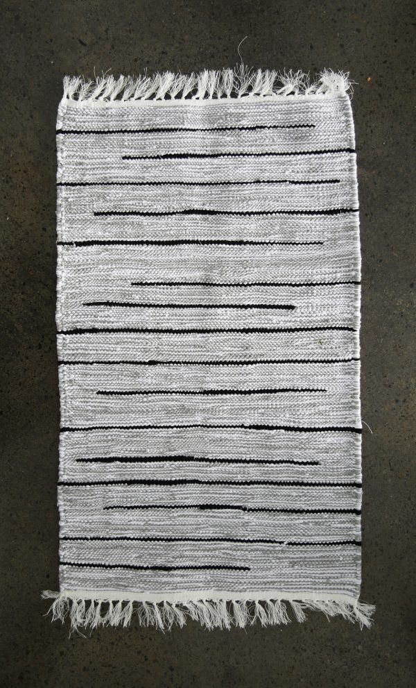 Small Chine Hand Woven Recycled Cotton