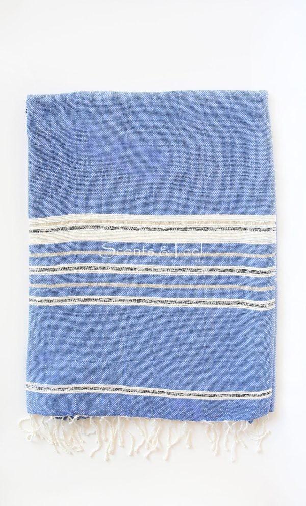 Throw Stripes Bicolor Metallic Bamboo/Cotton