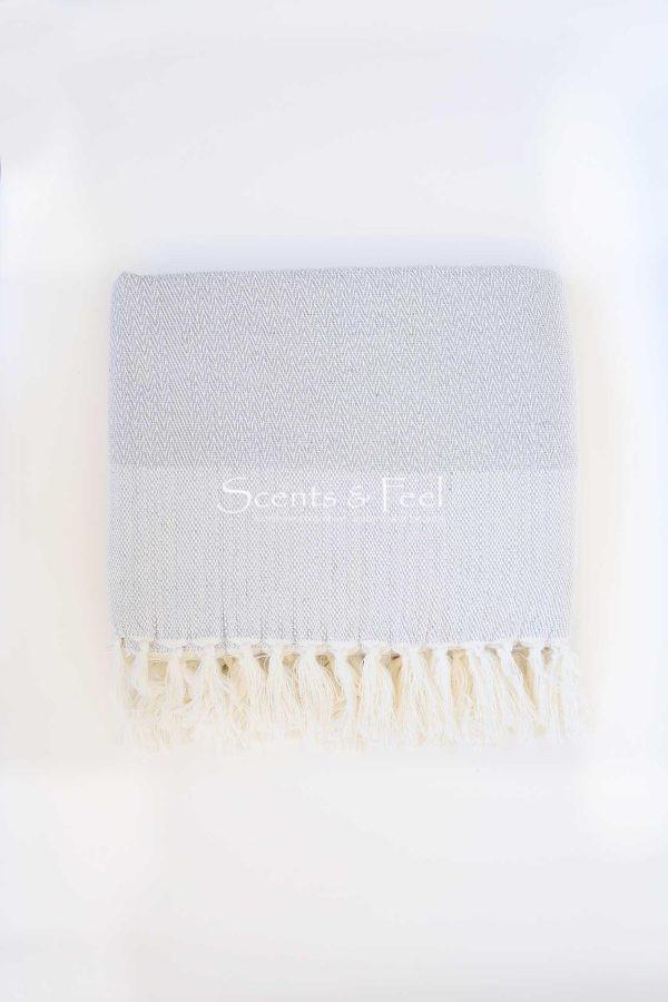 Throw Herringbone Cotton