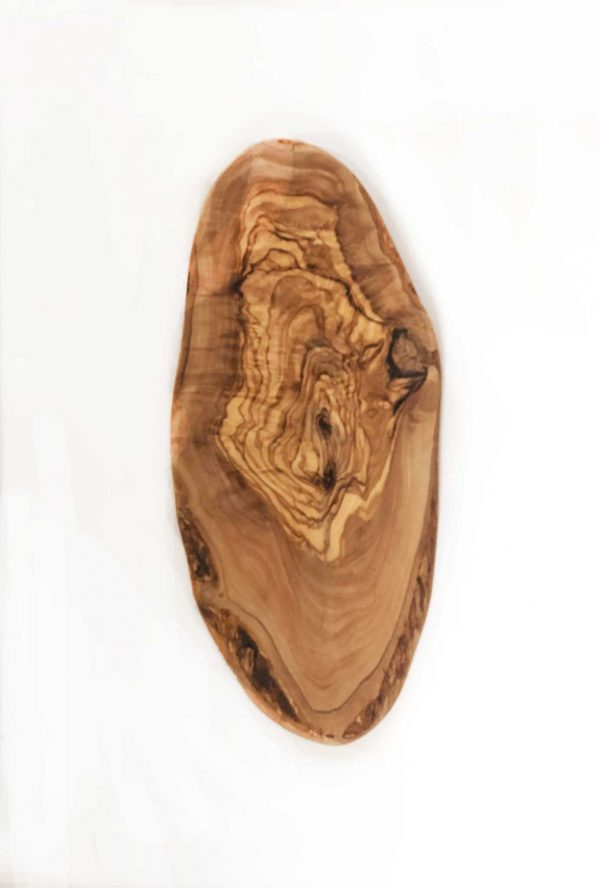 Olive Wood Oval Board 12 1/2""