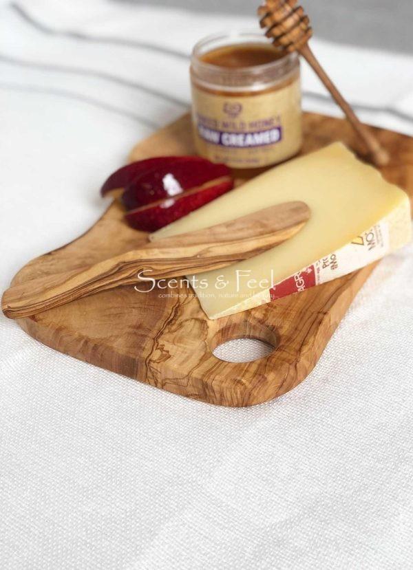 "Olive Wood Honey Dipper 5"""