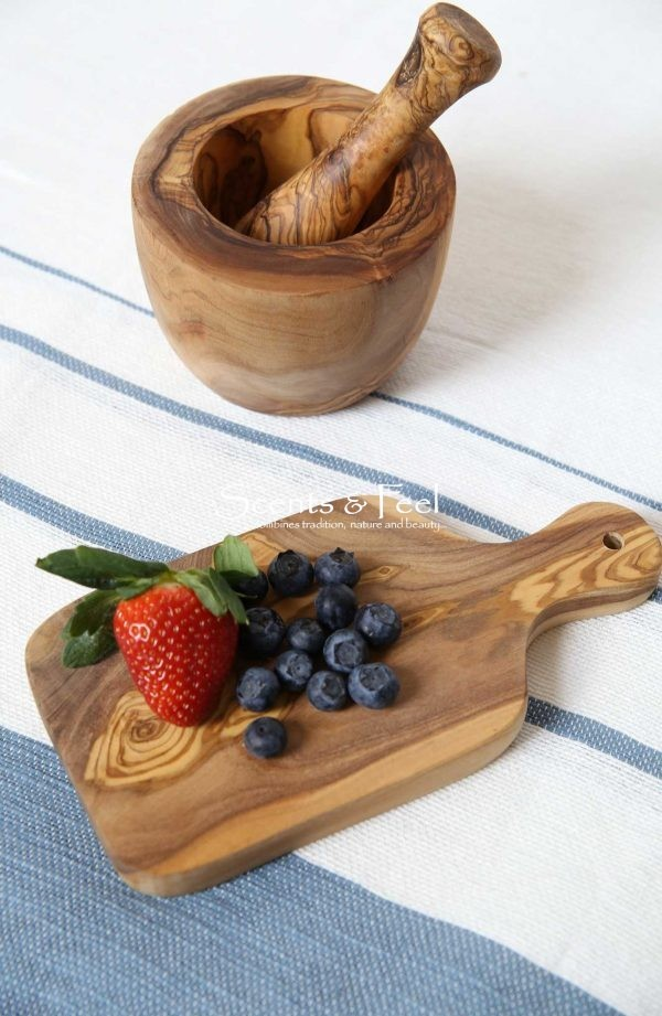 Olive Wood Rectangular Small Cutting Board