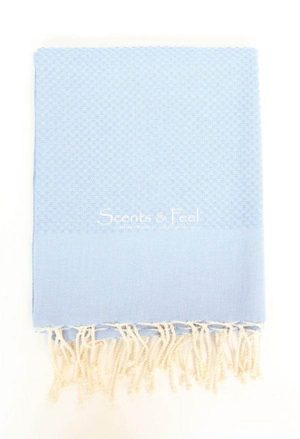 Bath Fouta Towel Serenity Blue
