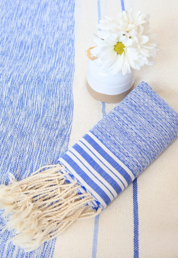 Throw Chine Saint Tropez Bamboo and Cotton