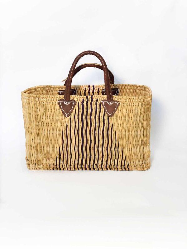 Beach Basket Triangular Design Small