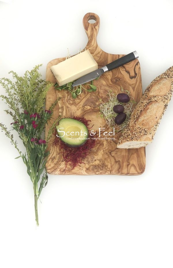 Olive Wood Large Rectangular Cutting Cheese Board