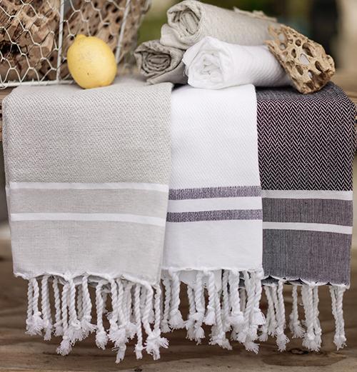 Herringbone Hand Towel