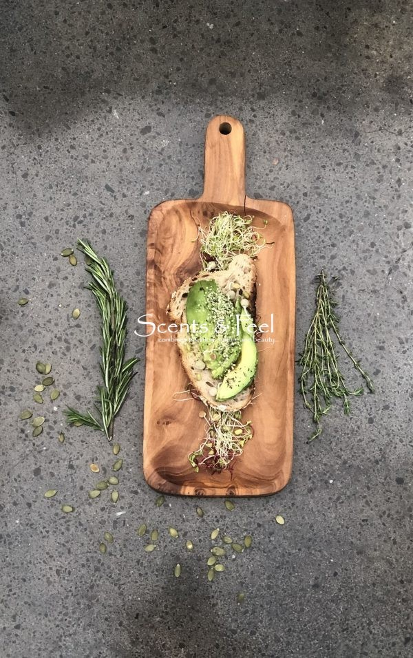 Olive Wood Large Appetizer Board Tray